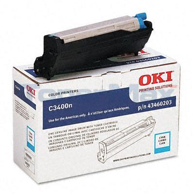 OKI C3400N SERIES IMAGE DRUM CYAN